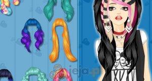 Zwariowane kolory włosów
