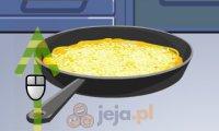 Serowy omlet