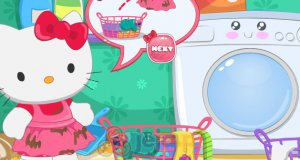 Pranie Hello Kitty