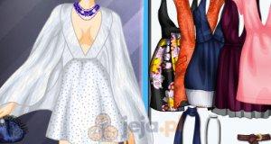 Suknie z głębokimi dekoltami