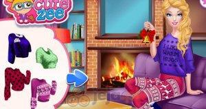 Barbie i świąteczne przygotowania
