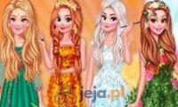 Księżniczki na 4 pory roku