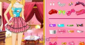 Projektowanie ubioru dla Barbie