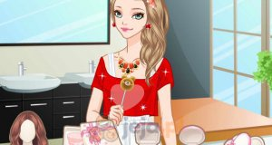 Dziewczyna z lizakiem