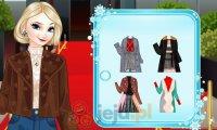 Zimowa stylizacja Elsy