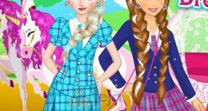 Siostru y z Krainy lodu w szkole