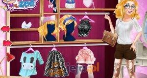Modowy grafik Barbie
