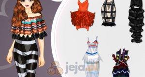 Ubrania z frędzlami