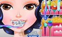 Śnieżka u dentysty