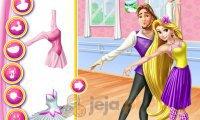 Roszpunka, Flynn i lekcja baletu