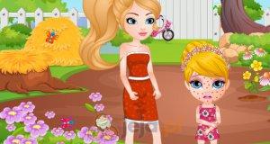 Mała Barbie ma alergię
