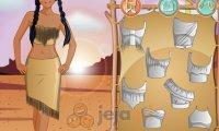 Studio makijażu - Pocahontas