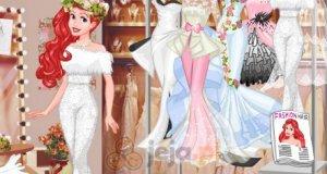 Księżniczki Disneya i pokaz mody ślubnej