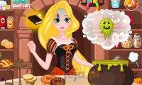Halloweenowe przysmaki Roszpunki