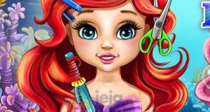 Zwariowana fryzura Małej Syrenki