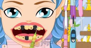 Zębowa wróżka u dentysty