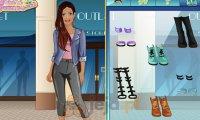Projektowanie - Jeansowe ubrania