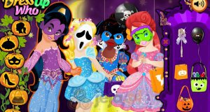 Księżniczki Disneya i Haloween