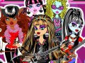 Monster High  - Rockowa banda