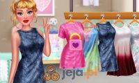 Księżniczki i farbowane ubrania