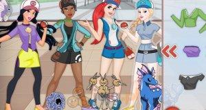 Księżniczki grają w Pokemon GO