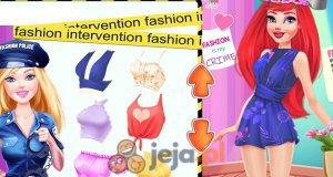 Barbie - policjantka modowa