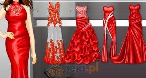 Czerwone suknie wieczorowe