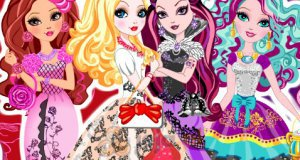 Laleczki Ever After High na balu