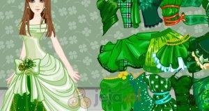 Zielona ubieranka