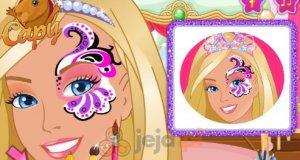Barbie i makijaż na imprezę