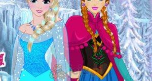 Fryzura Elsy i Anny