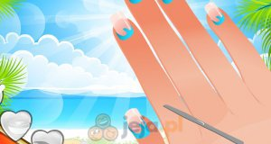 Paznokcie na plażę