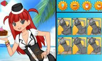Kelnerka na plaży