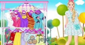 Barbie i ubrania z dzieciństwa