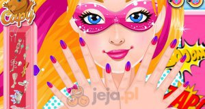 Manicure Super Barbie