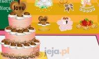 Tworzenie tortów  weselnych