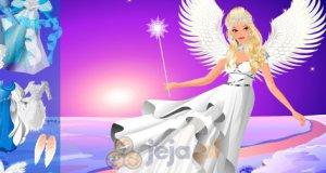 Zimowy anioł