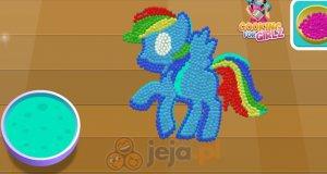 Rainbow Dash i ciasto z M&M'sów