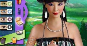 Orientalny makijaż