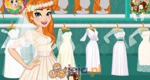 Księżniczka Anna i wesele w stylu boho