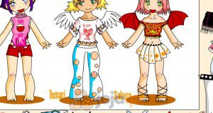Hinata, Temari i Sakura