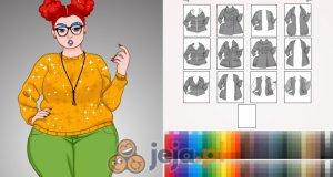 Kreator postaci: Zimowa moda