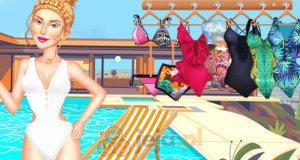 Impreza nad basenem
