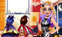Barbie i kostium na Halloween