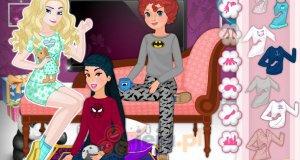 Piżama party u księżniczek