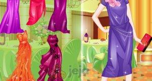Jagodowe sukienki