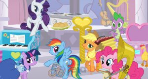 Zamek My Little Pony