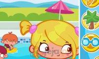 Nuda na basenie