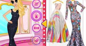 Luksusowy makijaż Barbie