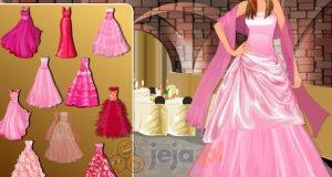 Różowe suknie